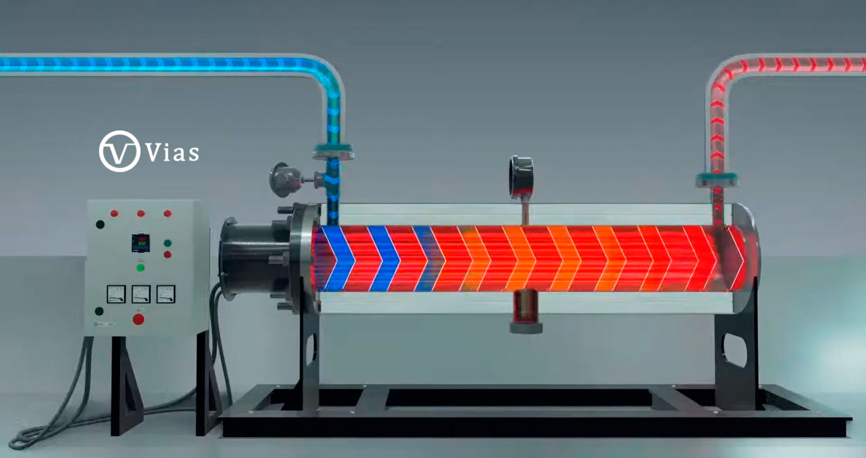 Soluciones para calefacción de líquidos mediante resistencias eléctricas.
